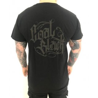 Coal Black T-Shirt - Black in Black