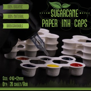Paper Ink Cups 16x12mm
