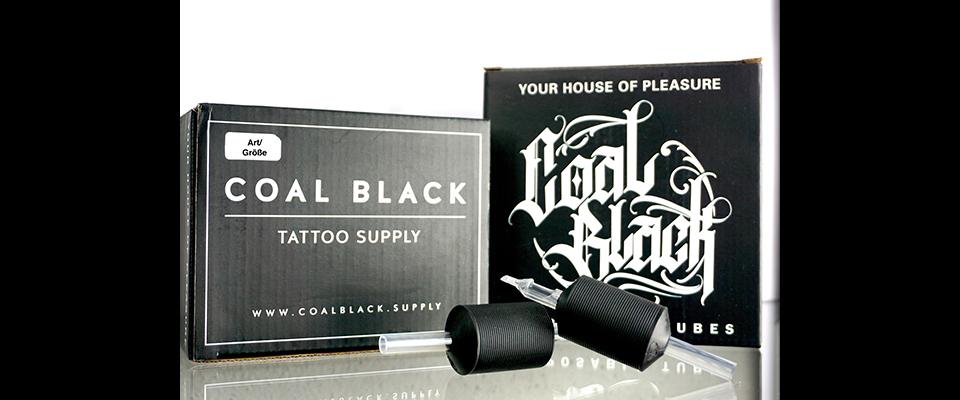 Coal Black Einweggriffstücke