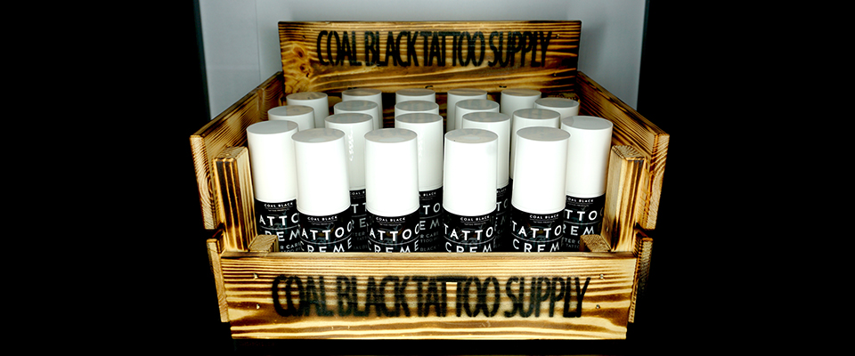 Coal Black Tattoo Creme
